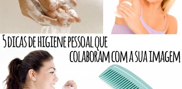 5 dicas de higiene que colaboram para a sua imagem