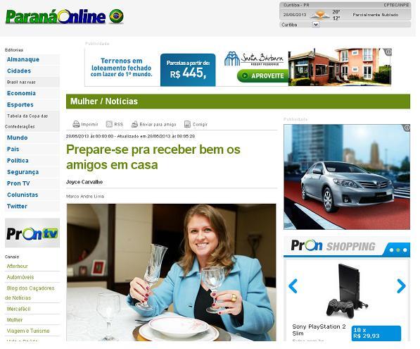 Paraná Online (Curitiba - PR) - 28/06