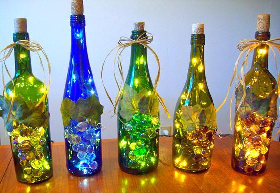 decoracao-natal-garrafas-recicladas