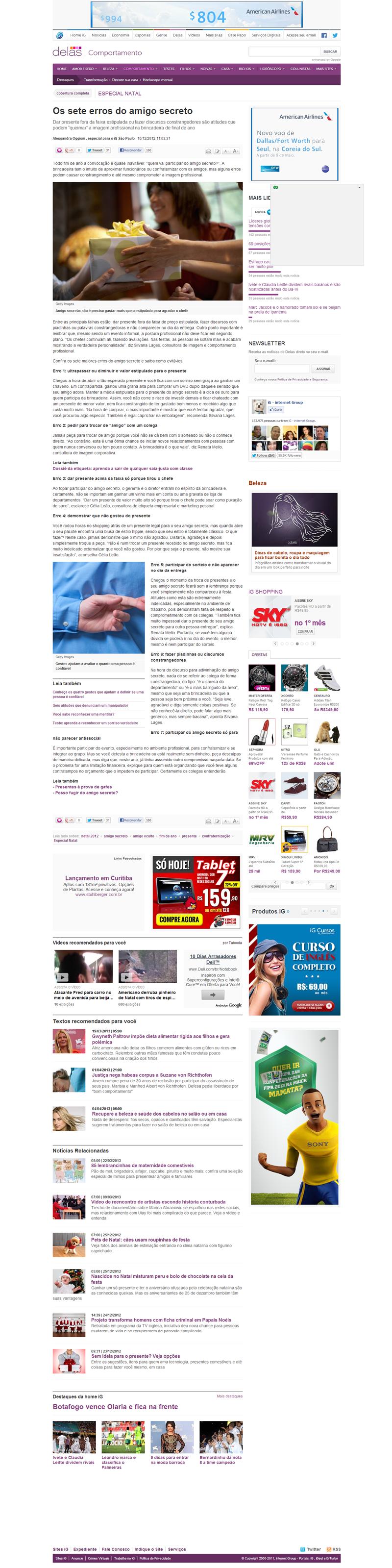 Portal Ig - 15/12/2012 (http://bit.ly/11HPgr5)