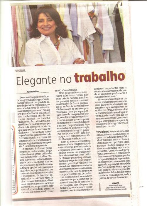 jornal O Estado de Minas Gerais