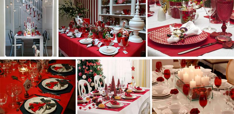 Dicas de decoração de mesas para o Natal